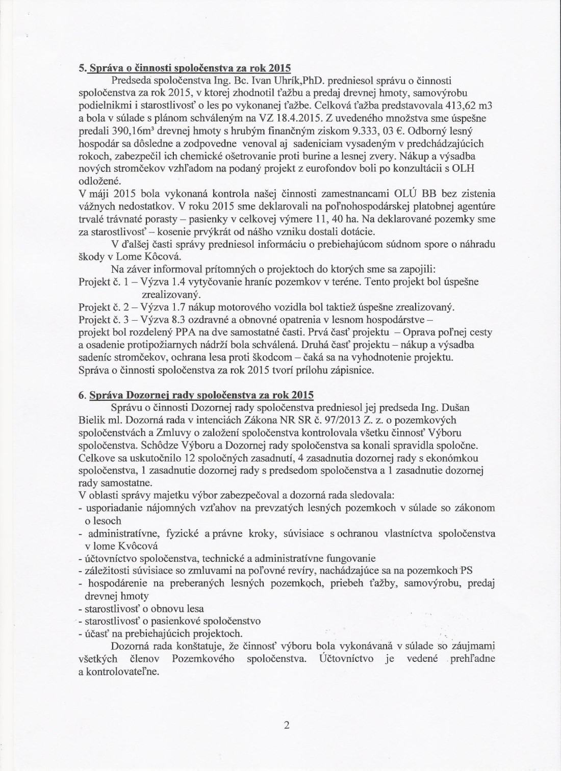 Zápisnica z VZ 14.5.2016 strana č.2