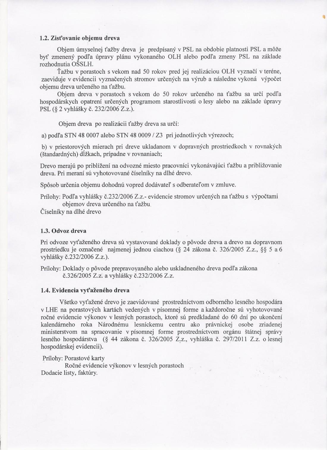 Systém náležitej starostlivosti o les - strana č. 2
