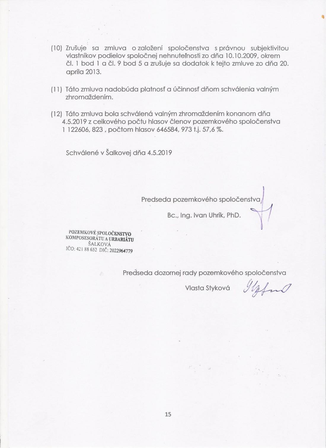 Zmluva o PS zo dňa 4.5.2019 - strana č. 15