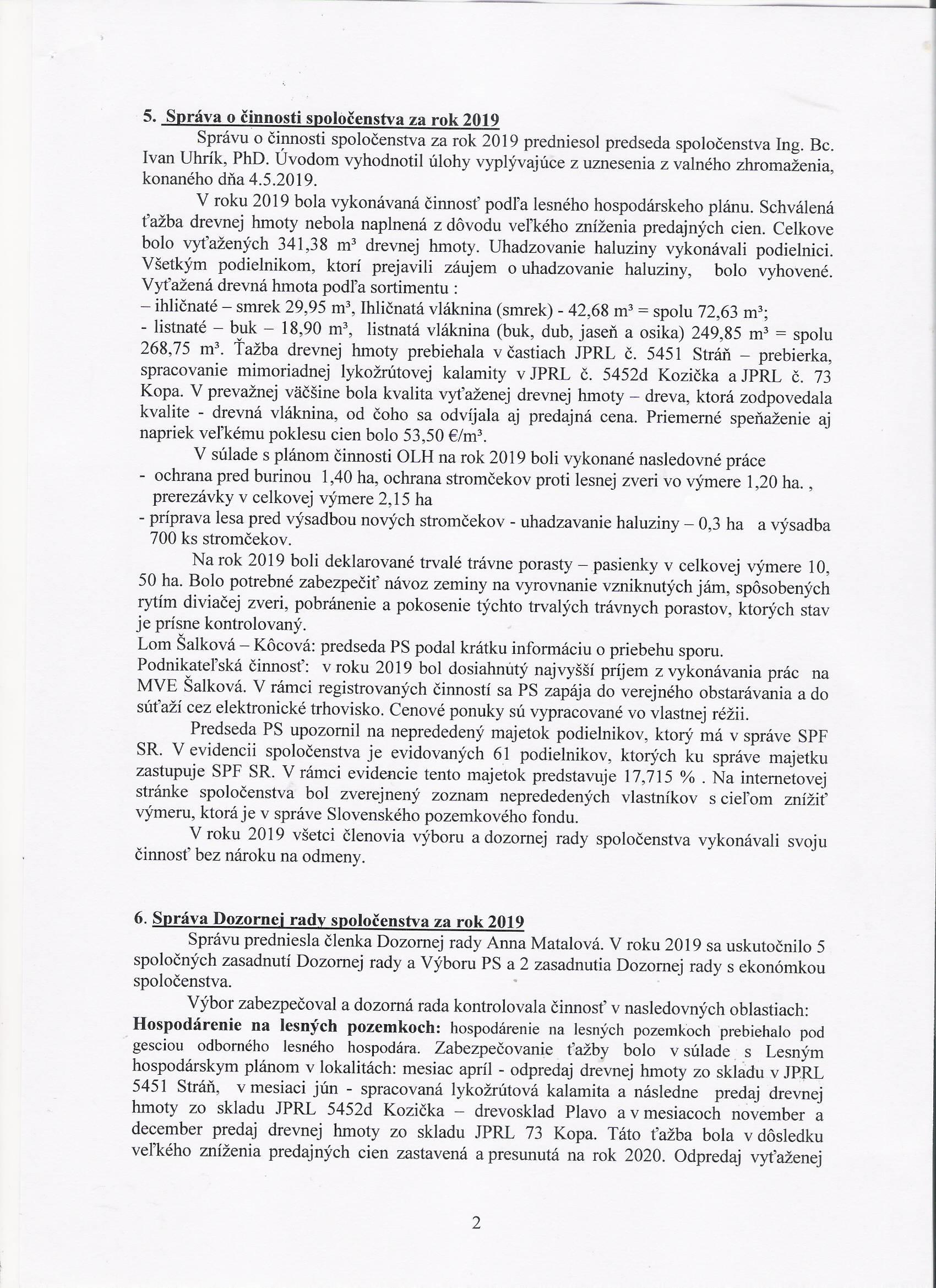 Scan - Zápisnica z VZ 18.7.2020 - strana č. 2